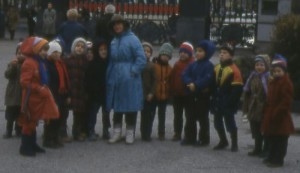 Klasje van Sint Petersburg naar het museum